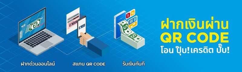 happyluke สมัครฝากเงินรวดเร็วทันใจด้วย QR Code