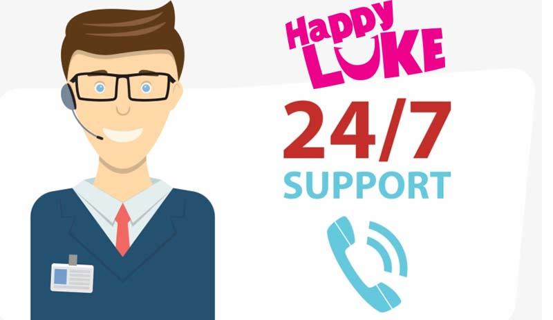 HappylukeLive บริการแชทสด ตอบทุกปัญหา